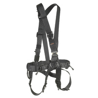 Skylotec CS 10 / 4 Black Adult Unisize Ropes Course Harness G-0910/4-A-SW