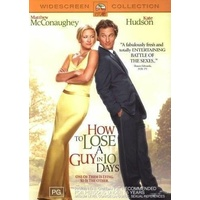HOW TO LOSE A GUY IN 10 DAYS Matthew McConaughey Kate Hudson DVD R4 PAL