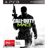 CALL OF DUTY MW3 Playstation 3 PS3 GAME PAL + Booklet