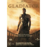 GLADIATOR Russell Crowe DVD R4 PAL