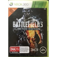 BATTLEFIELD 3 LIMITED EDITION Xbox 360 GAME PAL