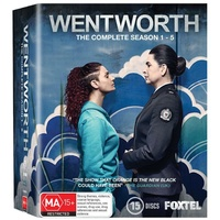 WENTWORTH SEASON 1-5 Blu-Ray REGION B PAL
