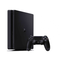 Sony Playstation 4 PS4 Console Slim 500GB - Matte Black + Warranty