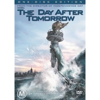 THE DAY AFTER TOMORROW DVD R4 PAL