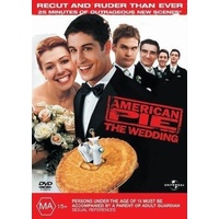 AMERICAN PIE THE WEDDING DVD R4 PAL