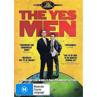 THE YES MEN DVD R4 PAL