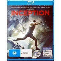 INCEPTION Blu Ray REGION B PAL