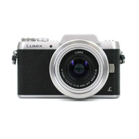 Panasonic Lumix G DMC-GF7K 16MP Mirrorless Camera with 12-32mm Lens Black Silver