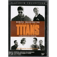 REMEMBER THE TITANS Denzel Washington DVD R4 PAL