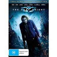 THE DARK KNIGHT DVD R4 PAL