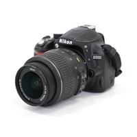 Nikon D3100 14.2MP Digital SLR Camera with 18-55mm and 55-200mm VR Lenses