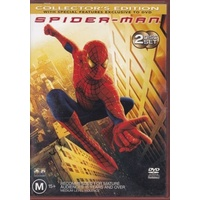 SPIDER-MAN Toby Maquire DVD R4 PAL