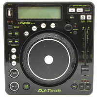 DJ-Tech Controller U Solo MKII - Compact Twin USB Player