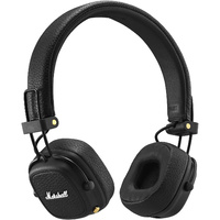 Marshall Major III Bluetooth Wireless On-Ear Headphones Black