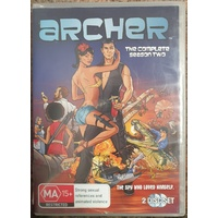 Archer The Compete Season Two 2 Disc Set DVD