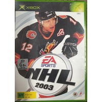 EA Sports NHL 2003 Microsoft Xbox *Booklet Included* Game Disc