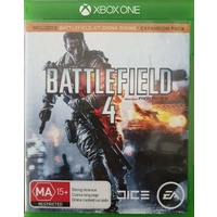 BATTLEFIELD 4 Xbox ONE GAME PAL