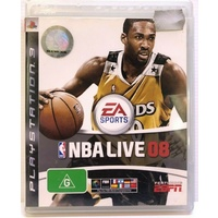 NBA LIVE 08 Playstation 3 PS3 GAME PAL