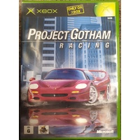 Project Gotham Racing Microsoft Xbox Game Disc