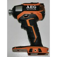 AEG BSS18B3 Brushless 3 Speed Impact Driver SKIN ONLY