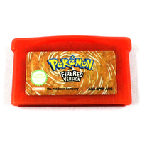 Pokemon Fire Red Version Gameboy Advance Cartridge