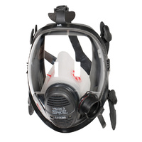 3M Scott Safety Vision 3 LQF Positive Pressure Full Face Respirator Mask M/L