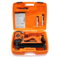 Ramset TrakFast TF1200 Gas Fastening Tool Nail Gun with 2 Batteries & Charger