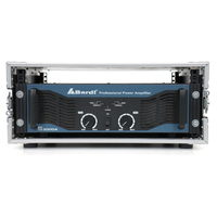 Bardl B3000A Professional 730W 2-Channel Power Amplifier with Road Case