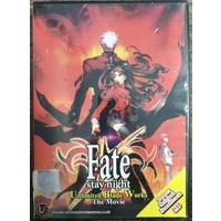 Fate Stay Night Unlimited Blade Works DVD Malay Version Includes CD