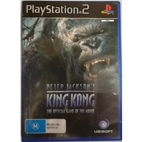 Peter Jackson's King Kong Sony PlayStation 2 Game Disc