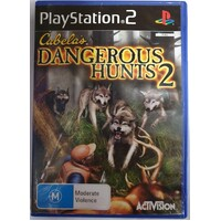 Cabela's Dangerous Hunts 2 Sony PlayStation 2 Game Disc