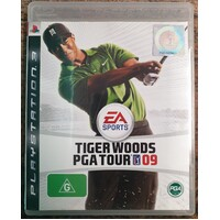 Tiger Woods PGA Tour 09 Sony PlayStation 3 Game Disc