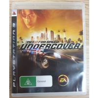 Need for Speed Undercover Sony PlayStation 3 Game Disc