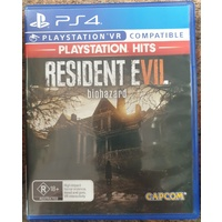 Resident Evil Biohazard Sony PlayStation 4 PS4 Game