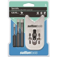 Sutton Tools Specialty Diamond Core Bits With Guide set 6,8,10mm