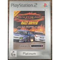 V8 Supercars Australia Race Driver Sony PlayStation 2 Platinum Game Disc