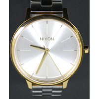 Nixon Kensington A0992062-00 Silver Gold Women's Quartz Analog Watch
