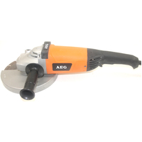 AEG 2200W 230mm Corded Angle Grinder + DMS