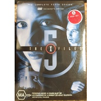 The X-Files The Complete Fifth Season DVD 6 Disc