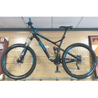 "Trek 2015 Remedy 8 27.5"" Downhill Racer - Starry Night Black/Trek Cyan"