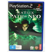 The Matrix Path of Neo Sony PlayStation 2 Game *Booklet included*