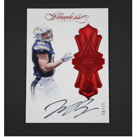 2016 Panini Flawless Joey Bosa Rookie On Card Auto Ruby /15 Los Angeles Chargers