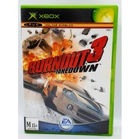 Burnout 3 Takedown Microsoft Xbox Game