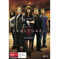 SANCTUARY - SEASON 2 Amanda Tapping Robin Dunne 4-Disc Set DVD R4 PAL