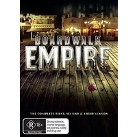 BOARDWALK EMPIRE  Gretchen Mol  Jack Huston Josie Gallina  DVD R4 PAL