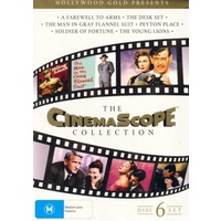 The Cinemascope Collection: 6 Movie DVD Box Set R4 PAL
