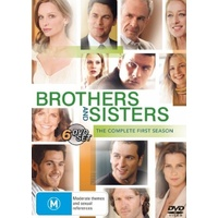 Brothers and Sisters The complete First Season 1 DVD R4 PAL 6 Disc