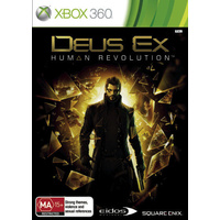 Deus Ex (Limited Edition) XBOX 360 Game  PAL + Booklet