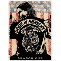 Sons of Anarchy Season 1 One DVD R4 PAL 4 Disc