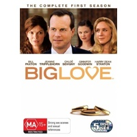 Big Love Season 1 DVD R4 PAL